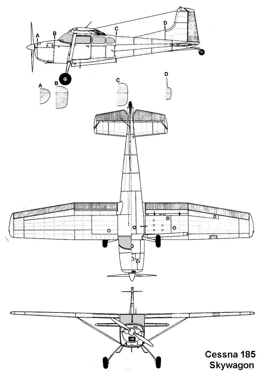 C Manufacturers Aviation Engineering Schematics Cessna 182 Skylane